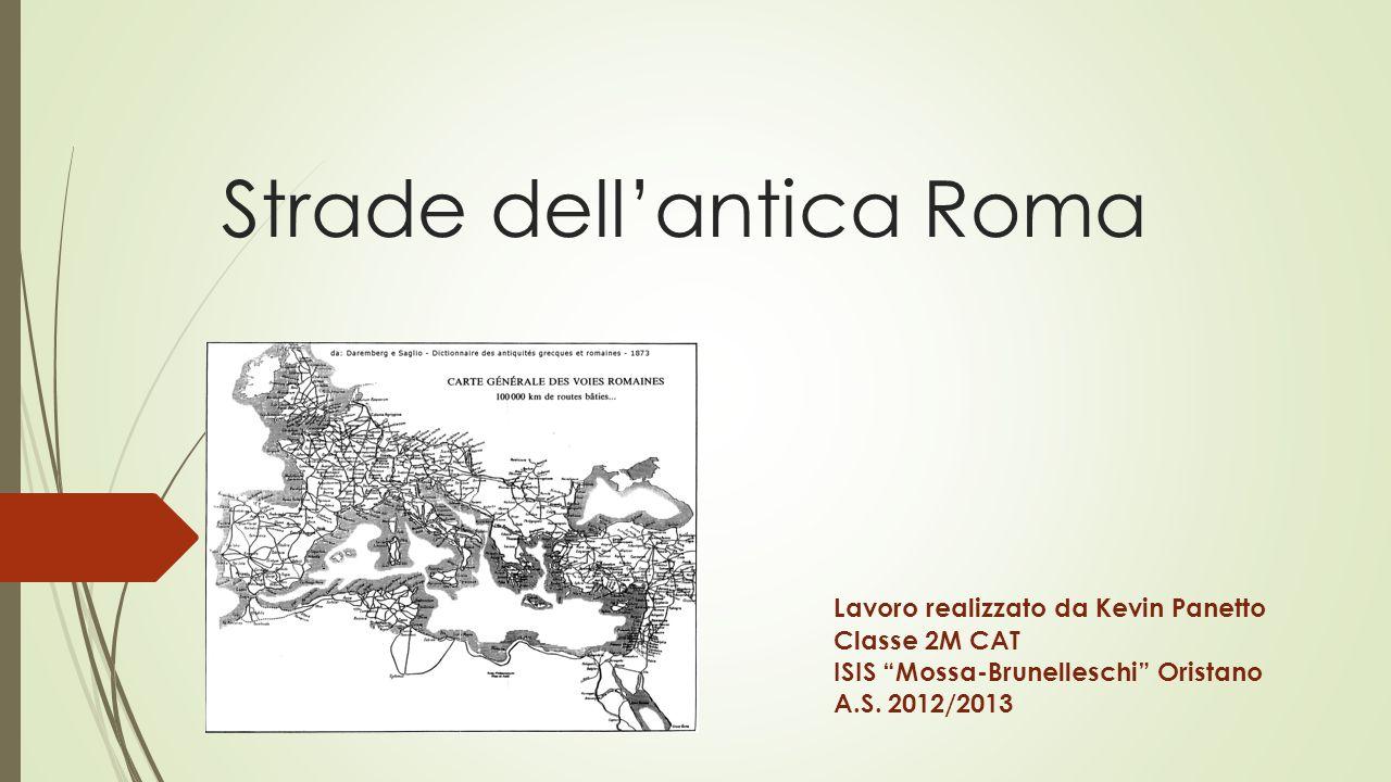 Strade dell'antica Roma