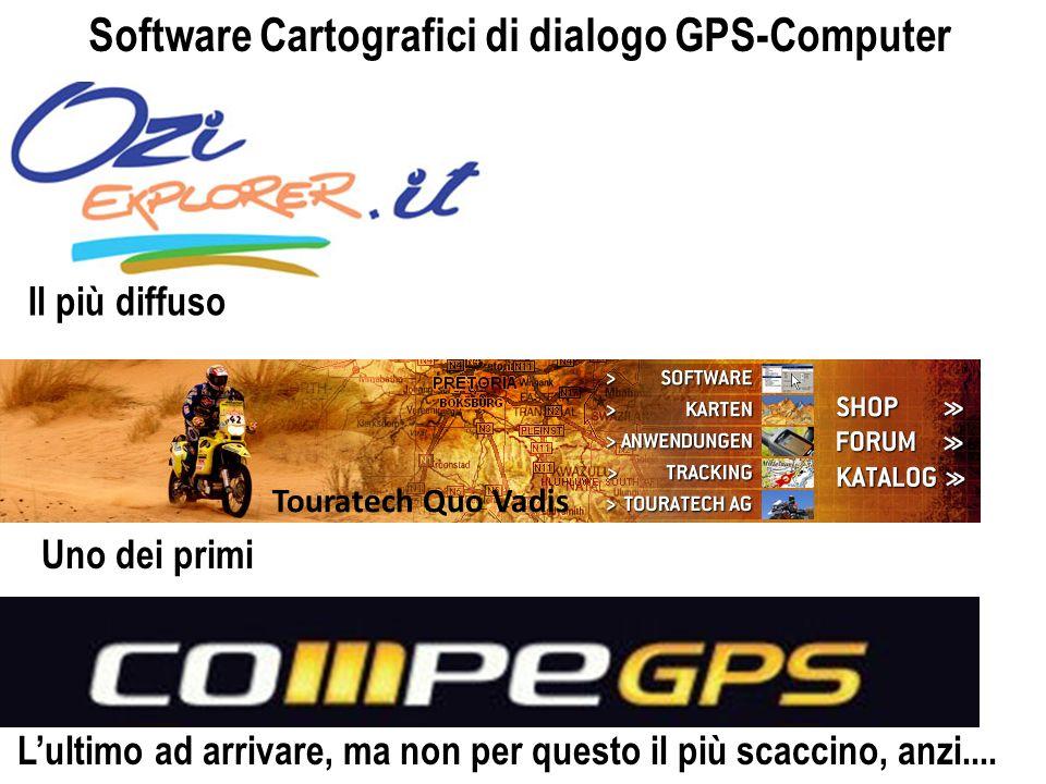 Software Cartografici di dialogo GPS-Computer