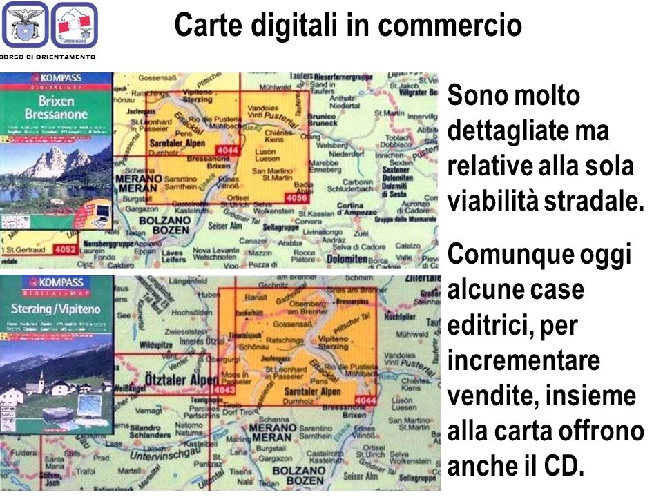 Carte digitali in commercio