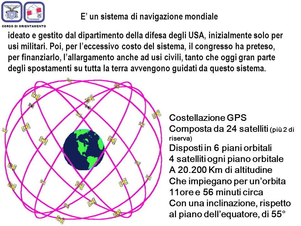 E' un sistema di navigazione mondiale