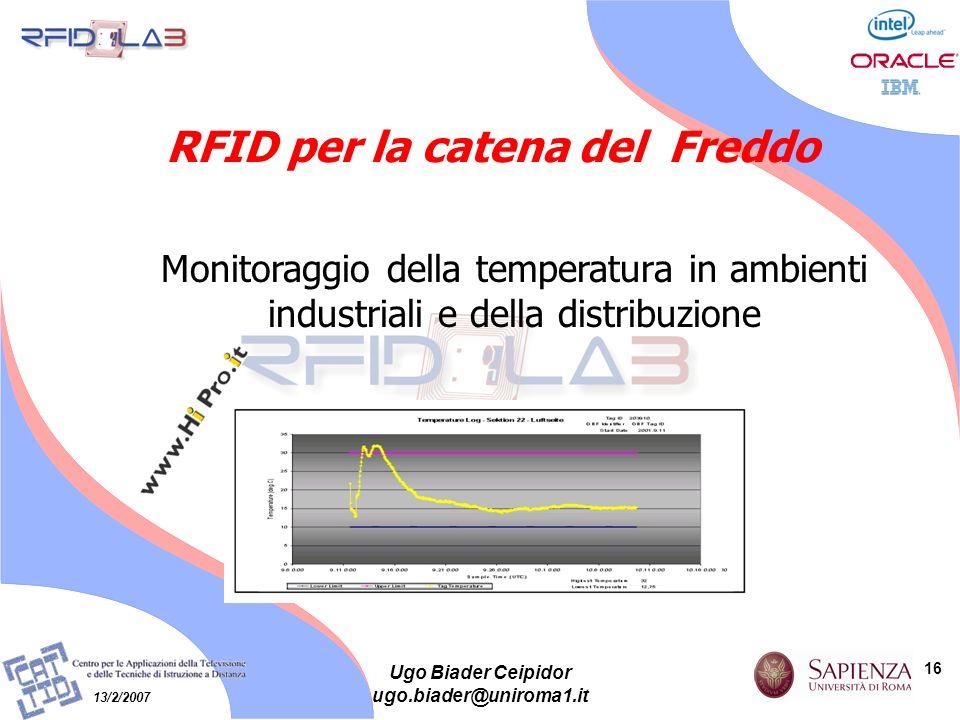 RFID per la catena del Freddo