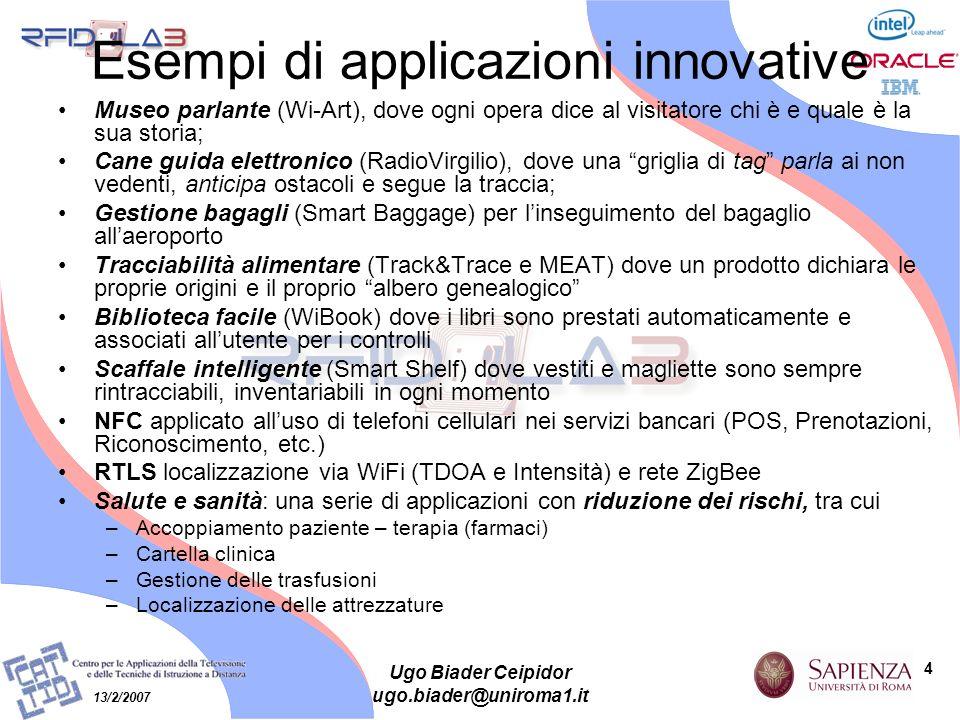 Esempi di applicazioni innovative