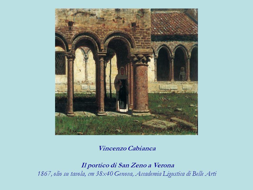 Il portico di San Zeno a Verona