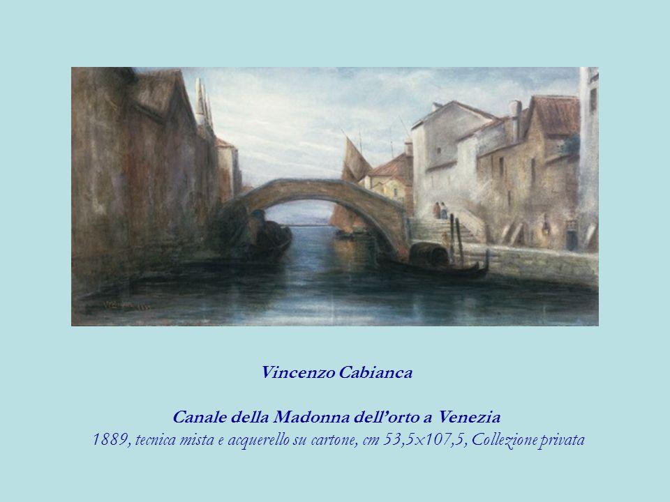 Canale della Madonna dell'orto a Venezia