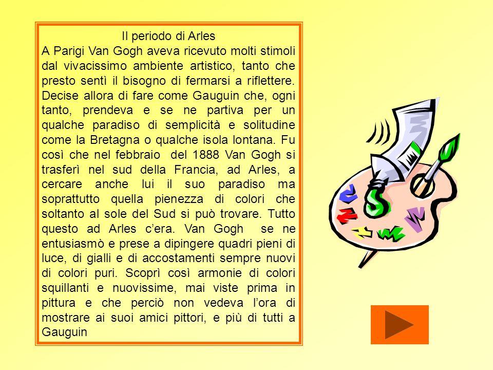 Il periodo di Arles
