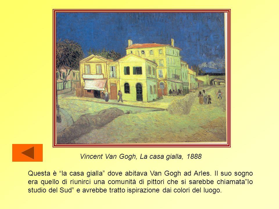Vincent Van Gogh, La casa gialla, 1888