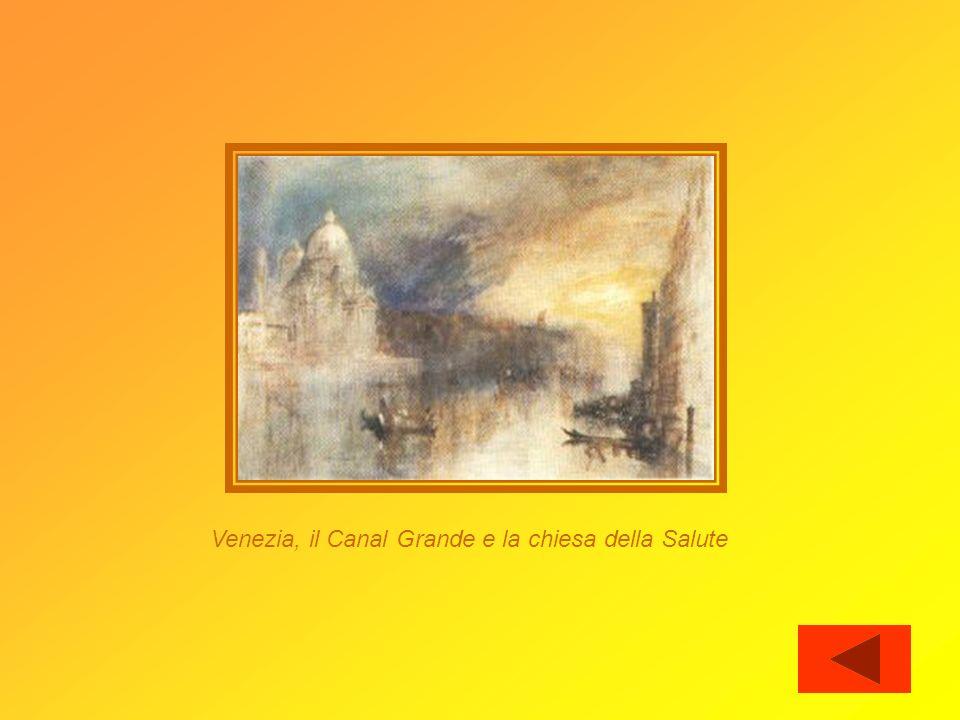 Venezia, il Canal Grande e la chiesa della Salute
