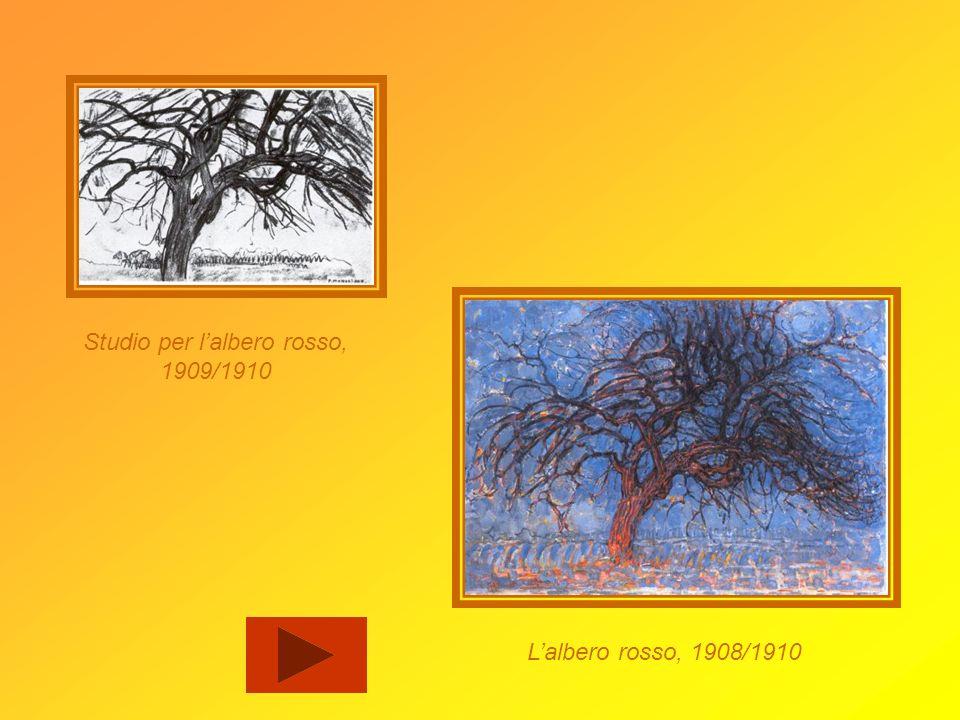 Studio per l'albero rosso,
