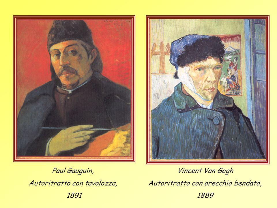 Autoritratto con tavolozza, 1891 Vincent Van Gogh