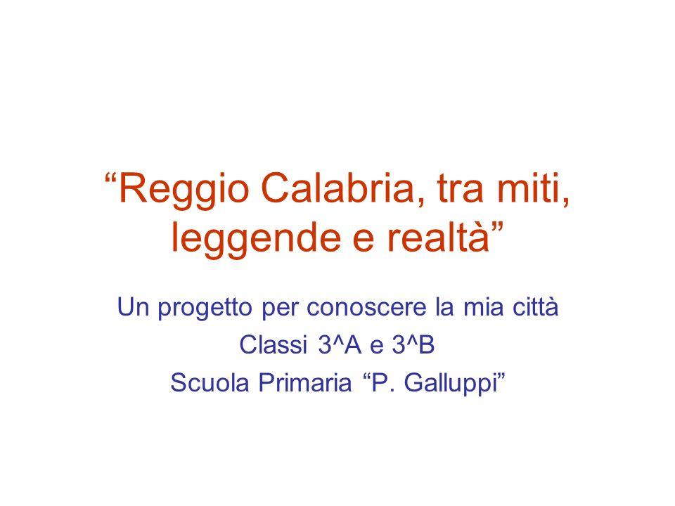 Reggio Calabria, tra miti, leggende e realtà
