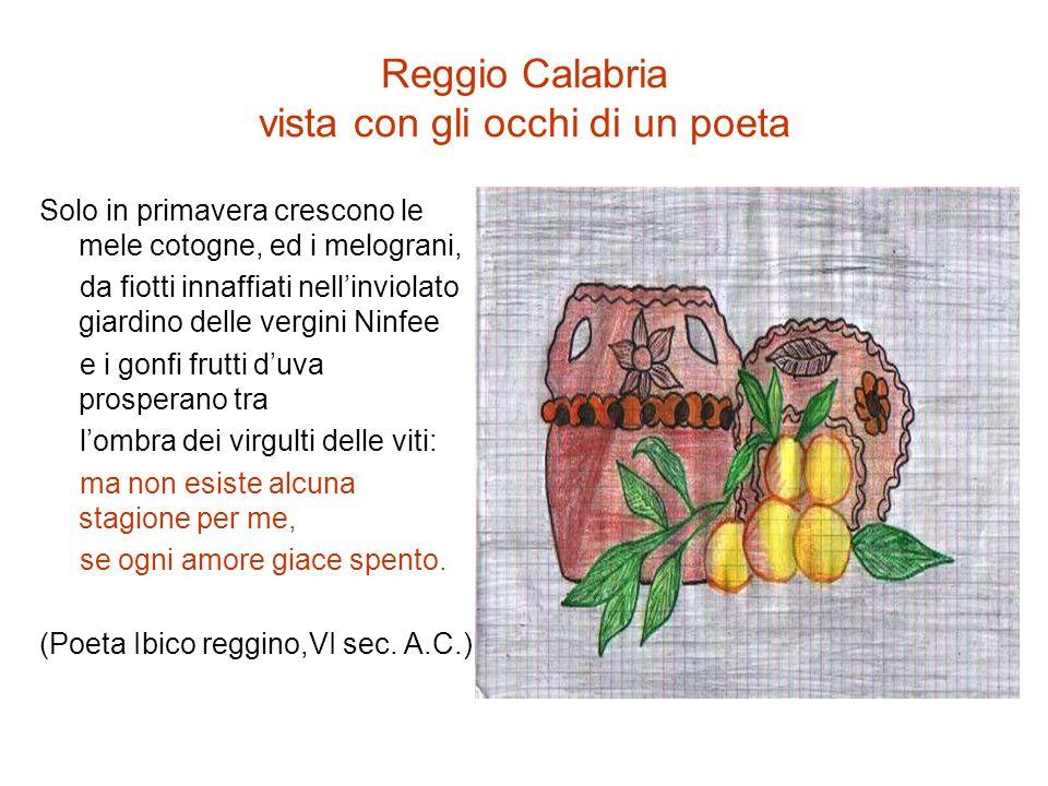 Reggio Calabria vista con gli occhi di un poeta