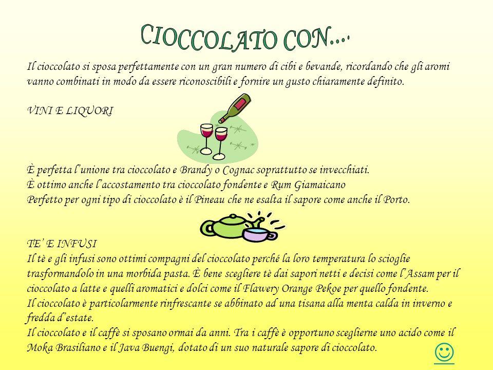 CIOCCOLATO CON....