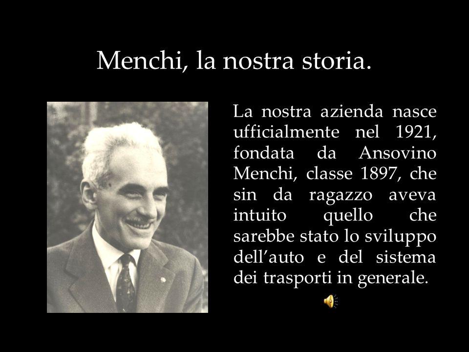 Menchi, la nostra storia.