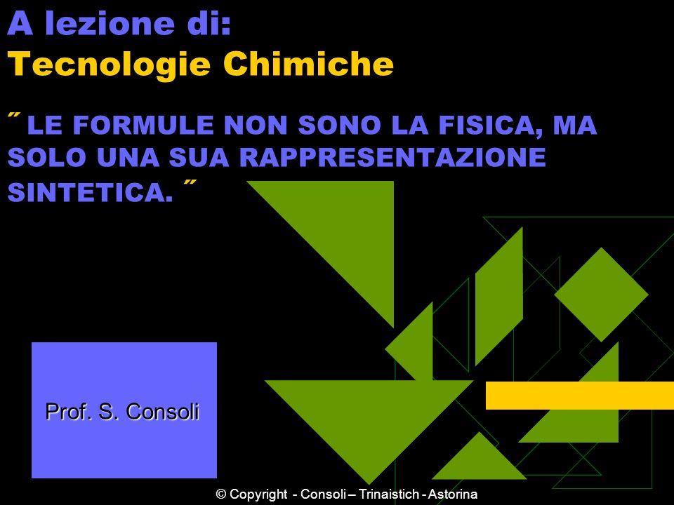 © Copyright - Consoli – Trinaistich - Astorina