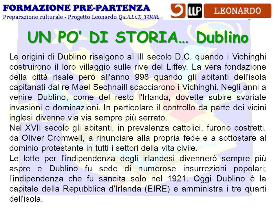 UN PO' DI STORIA… Dublino