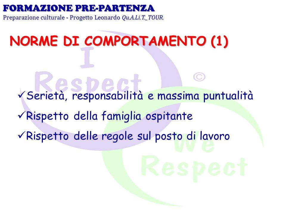 NORME DI COMPORTAMENTO (1)