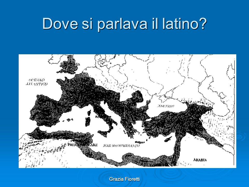 Dove si parlava il latino