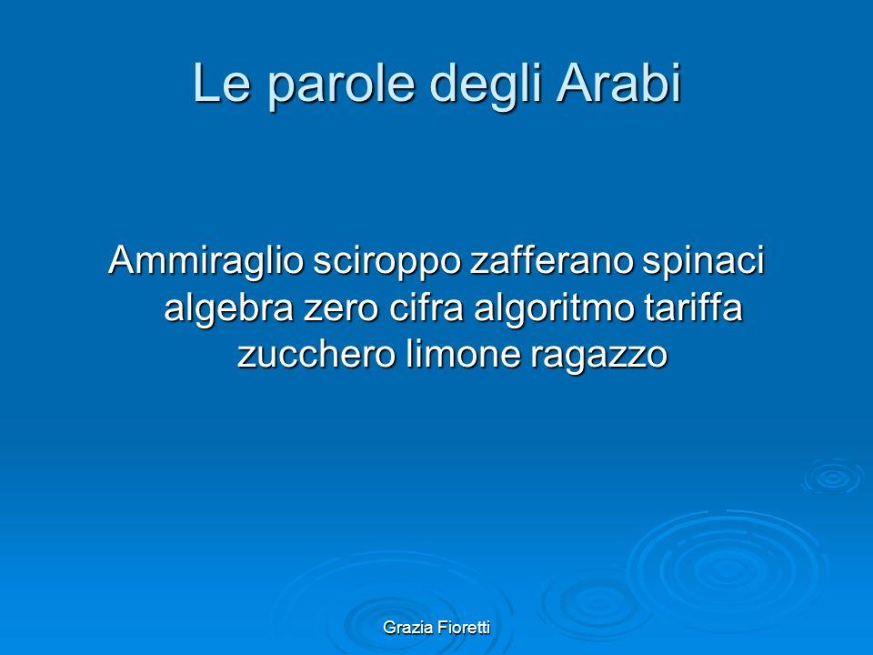Le parole degli Arabi Ammiraglio sciroppo zafferano spinaci algebra zero cifra algoritmo tariffa zucchero limone ragazzo.