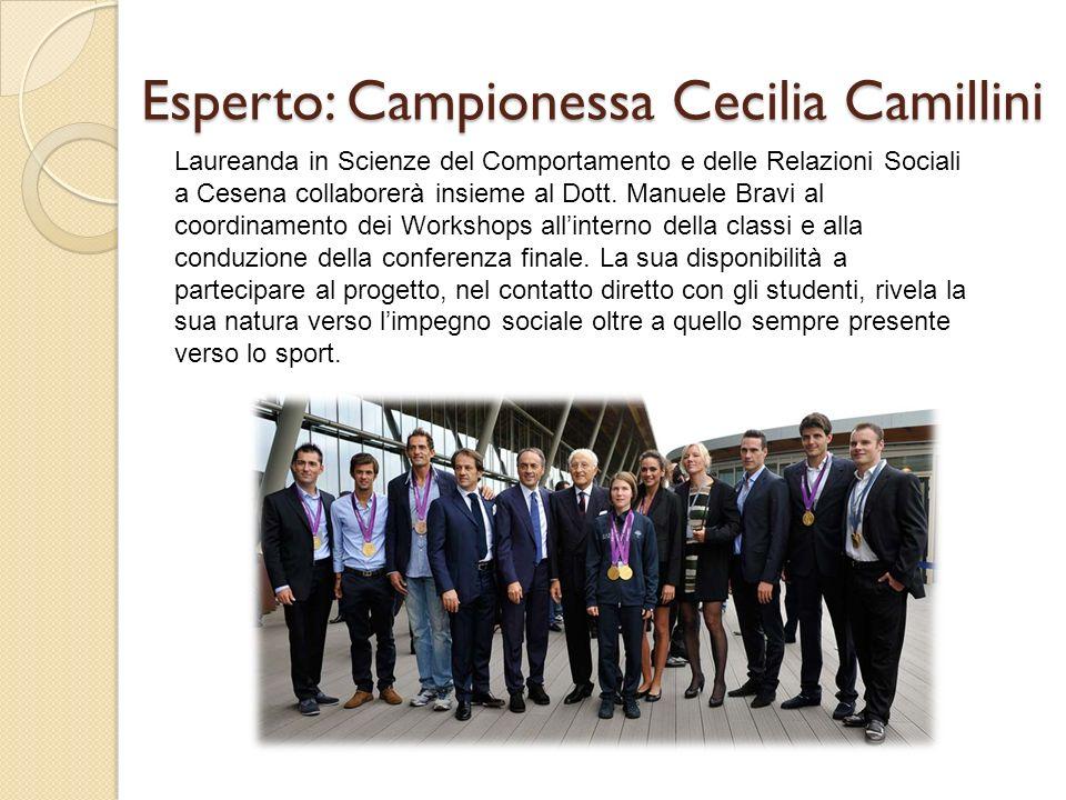 Esperto: Campionessa Cecilia Camillini