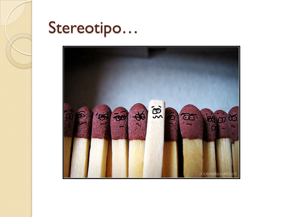 Stereotipo…