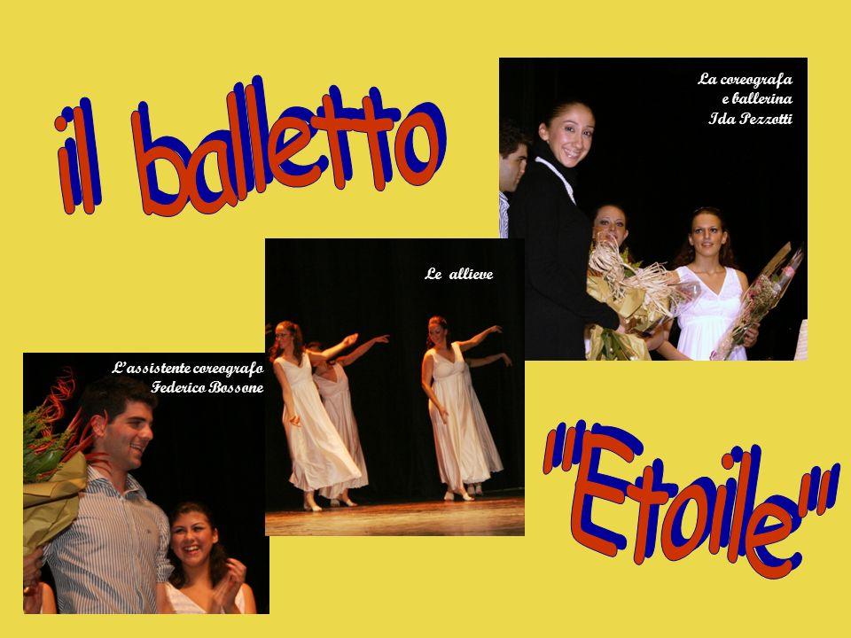 il balletto Etoile La coreografa e ballerina Ida Pezzotti Le allieve