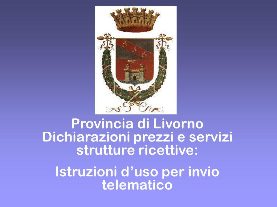Istruzioni d'uso per invio telematico