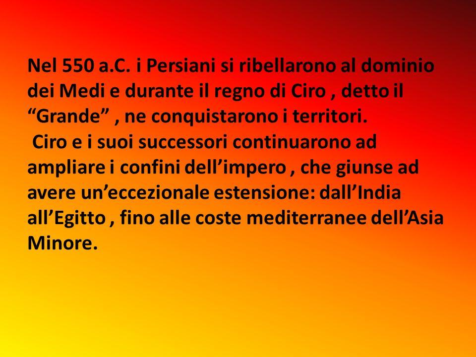 Nel 550 a.C.