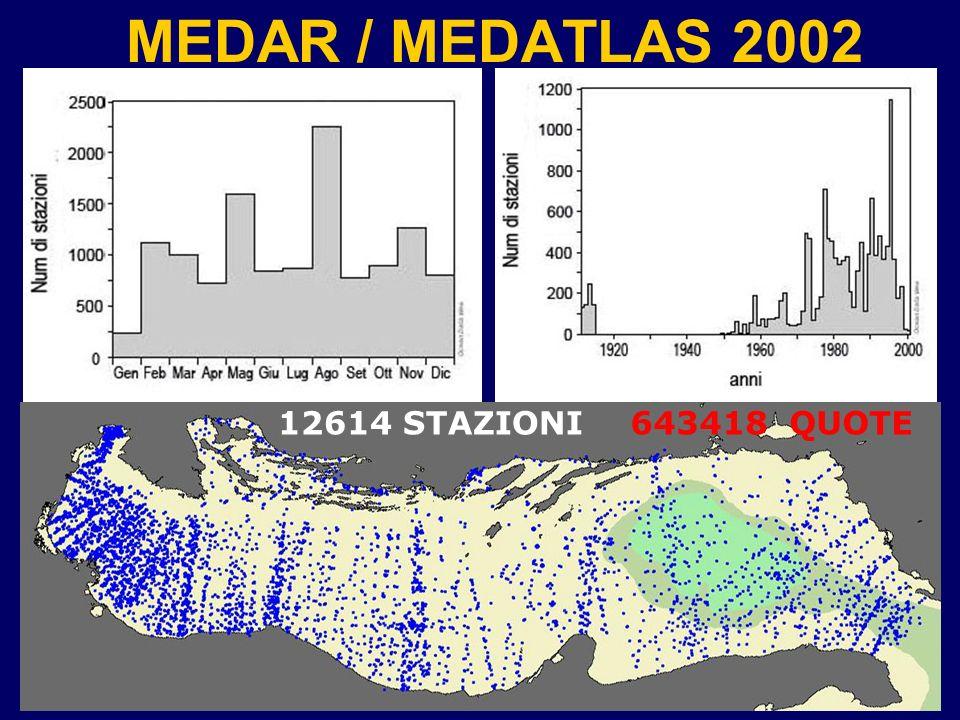 MEDAR / MEDATLAS 2002 12614 STAZIONI 643418 QUOTE