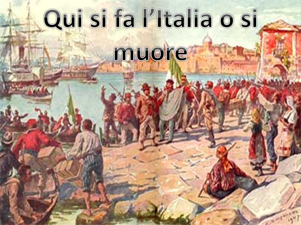 Qui si fa l'Italia o si muore