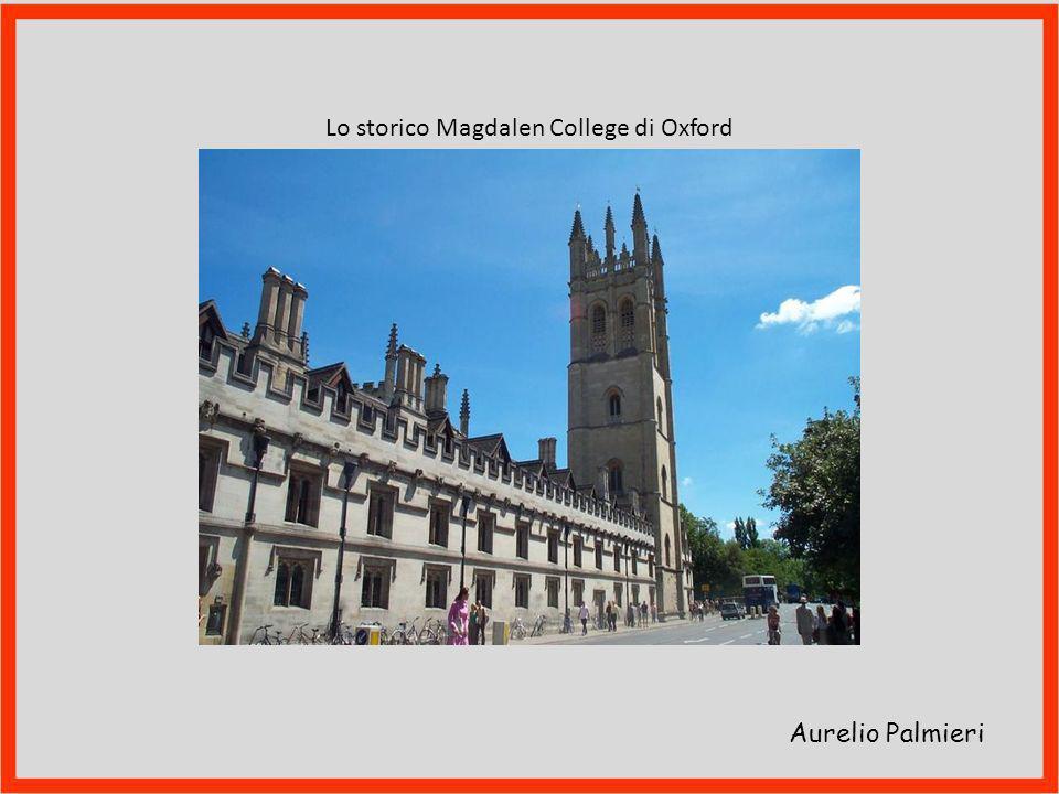Lo storico Magdalen College di Oxford
