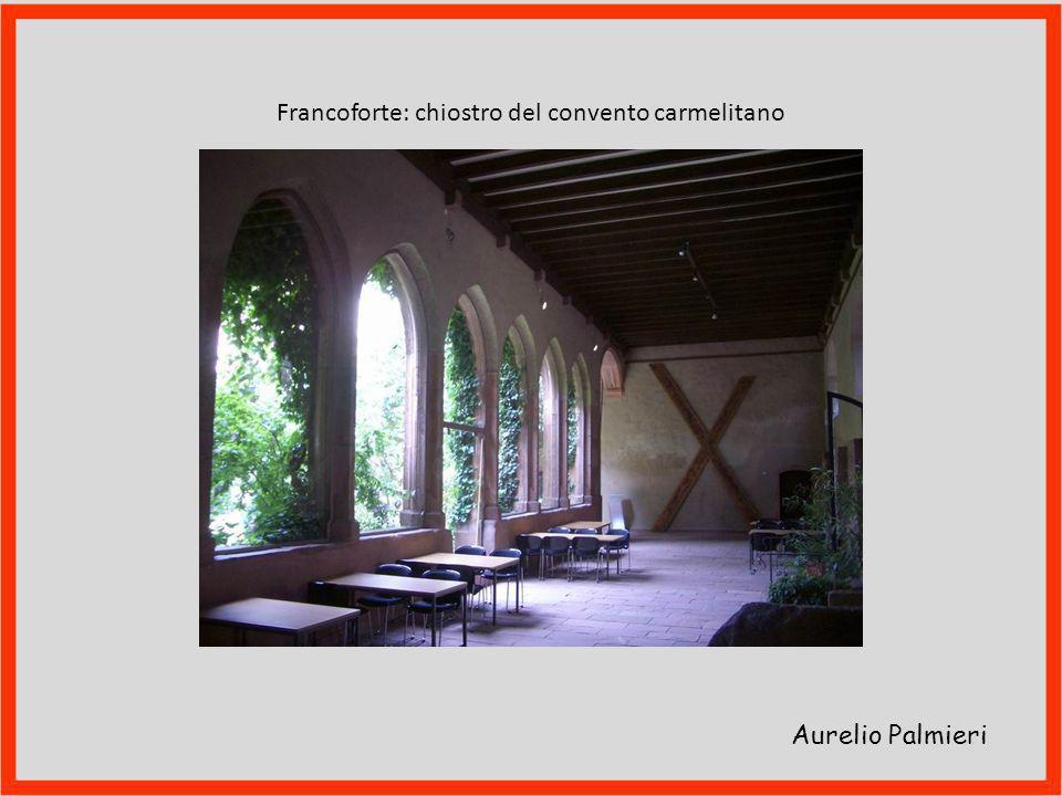 Francoforte: chiostro del convento carmelitano