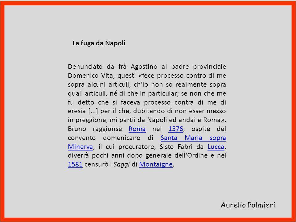 La fuga da Napoli