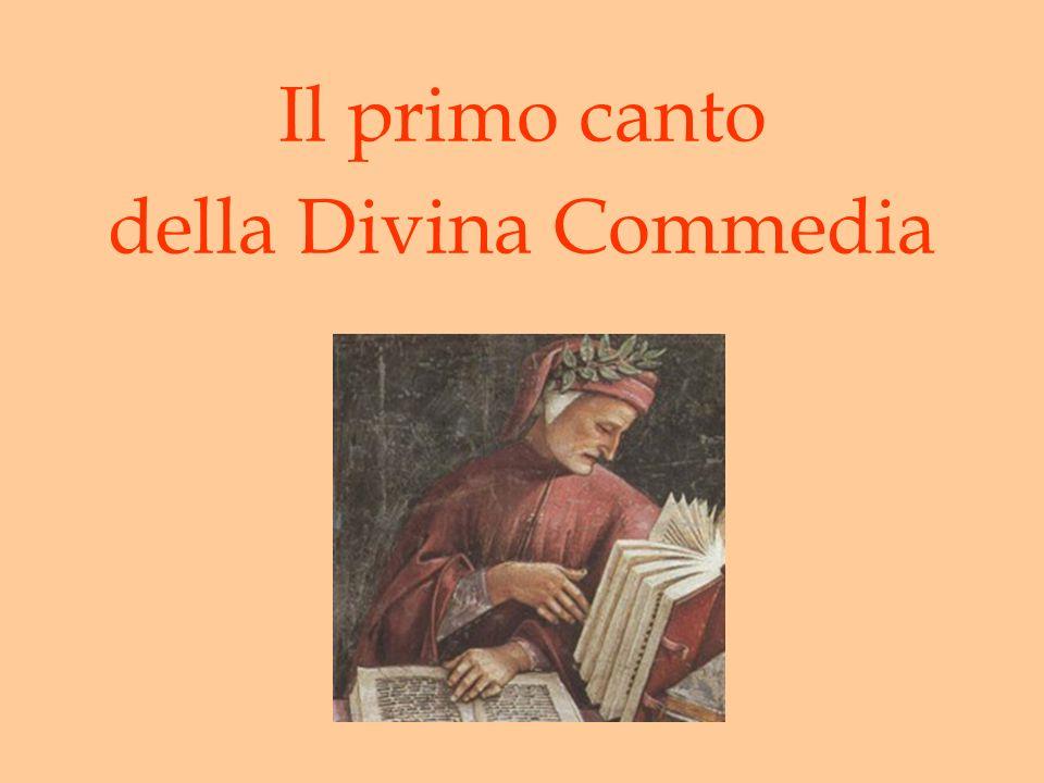 Il primo canto della Divina Commedia