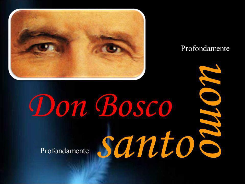 Profondamente uomo Don Bosco santo Profondamente