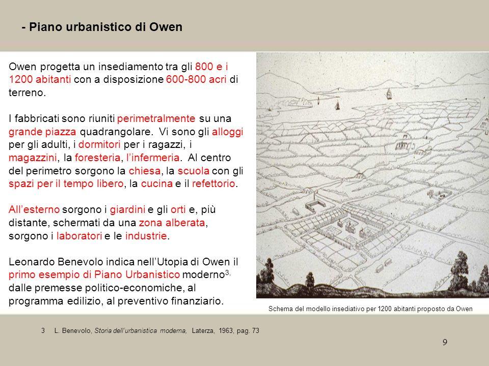 - Piano urbanistico di Owen