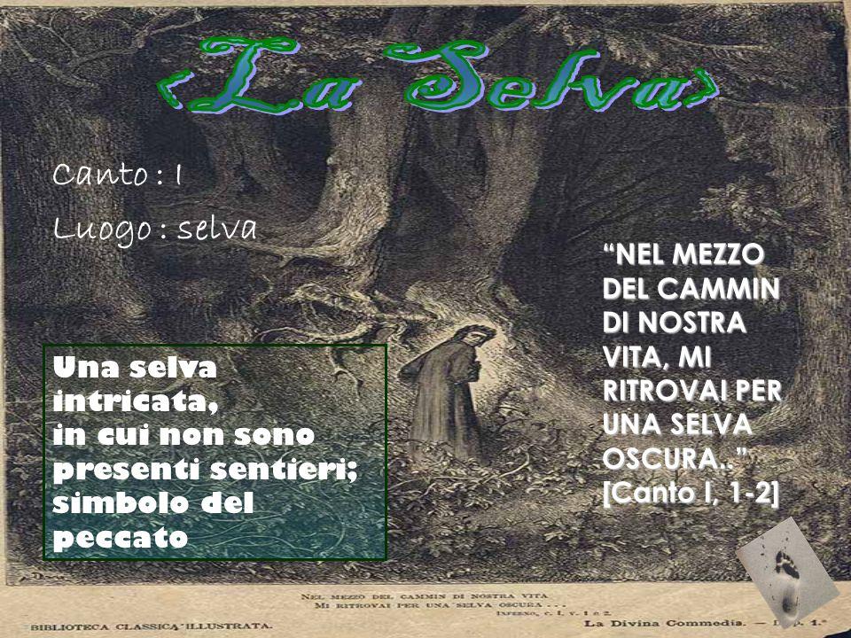 <La Selva> Canto : I Luogo : selva