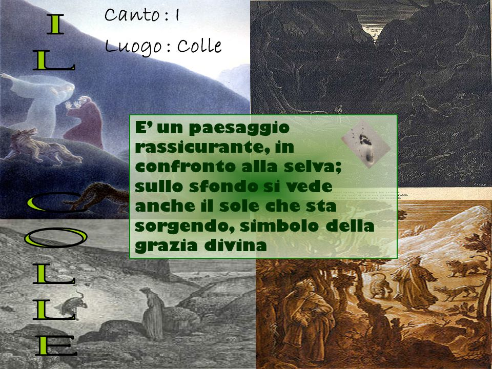 IL COLLE Canto : I Luogo : Colle