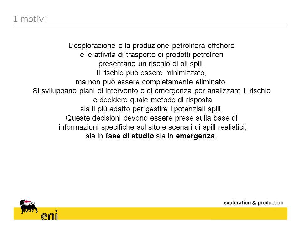 I motivi L'esplorazione e la produzione petrolifera offshore