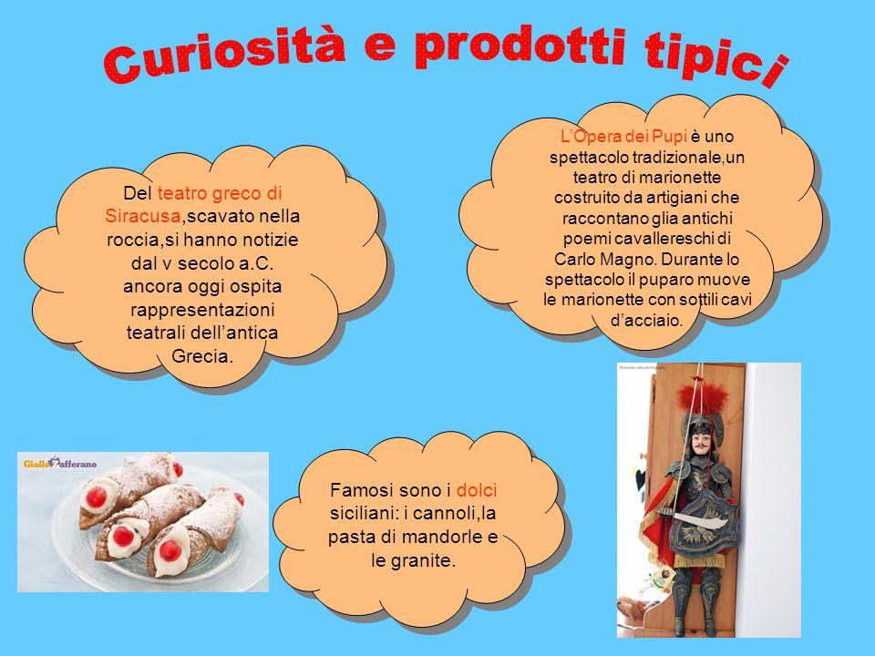 Curiosità e prodotti tipici