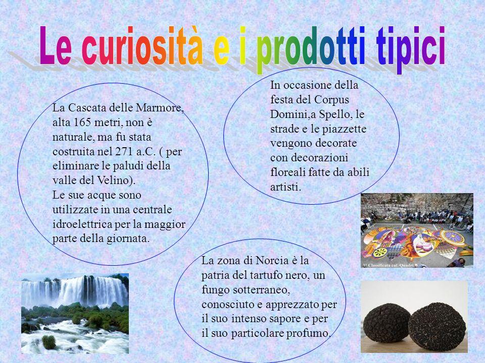 Le curiosità e i prodotti tipici
