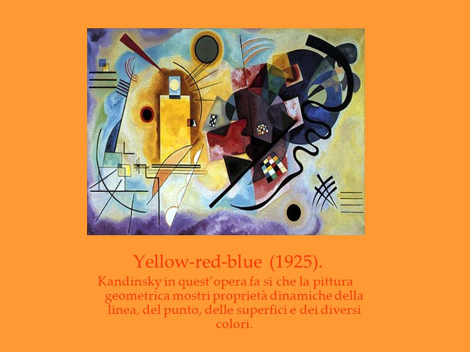 Yellow-red-blue (1925).