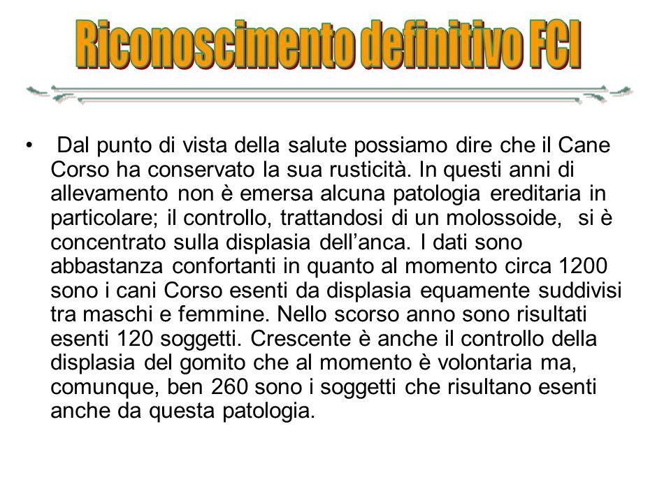 Riconoscimento definitivo FCI