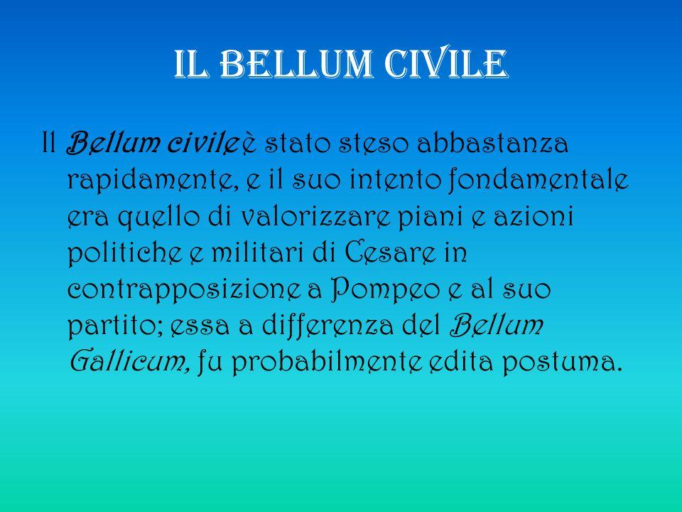 IL BELLUM CIVILE