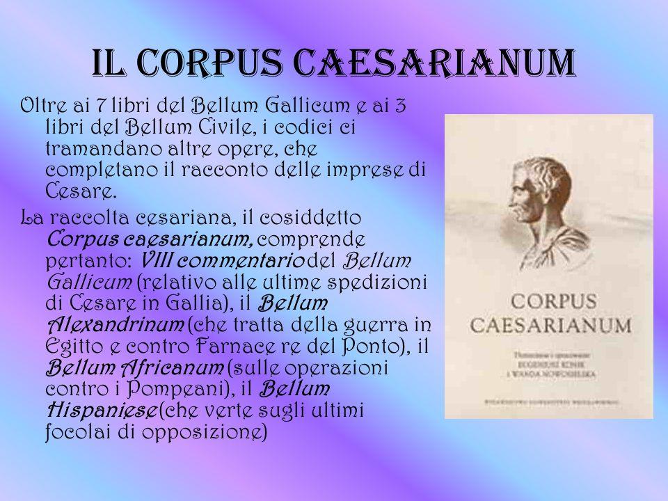 IL CORPUS CAESARIANUM