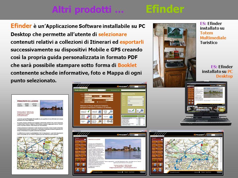 Altri prodotti … Efinder