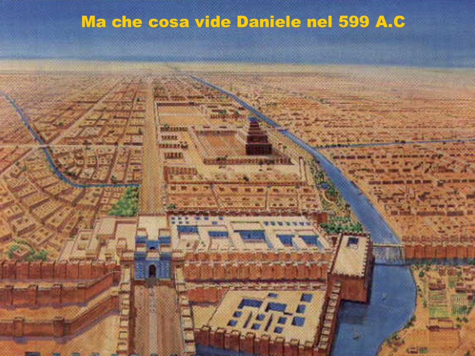 Ma che cosa vide Daniele nel 599 A.C