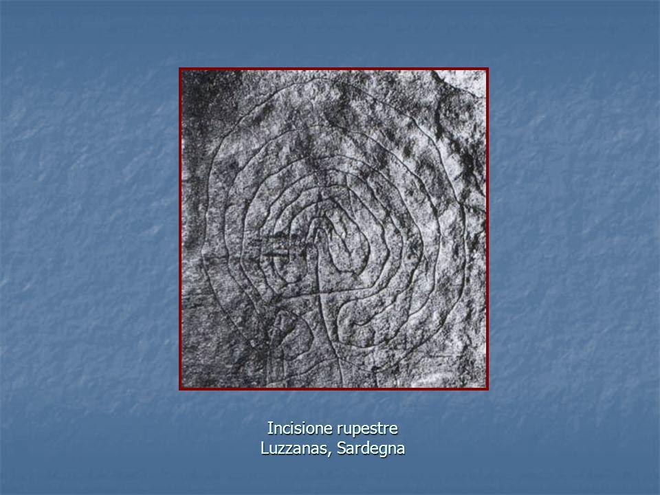 Incisione rupestre Luzzanas, Sardegna