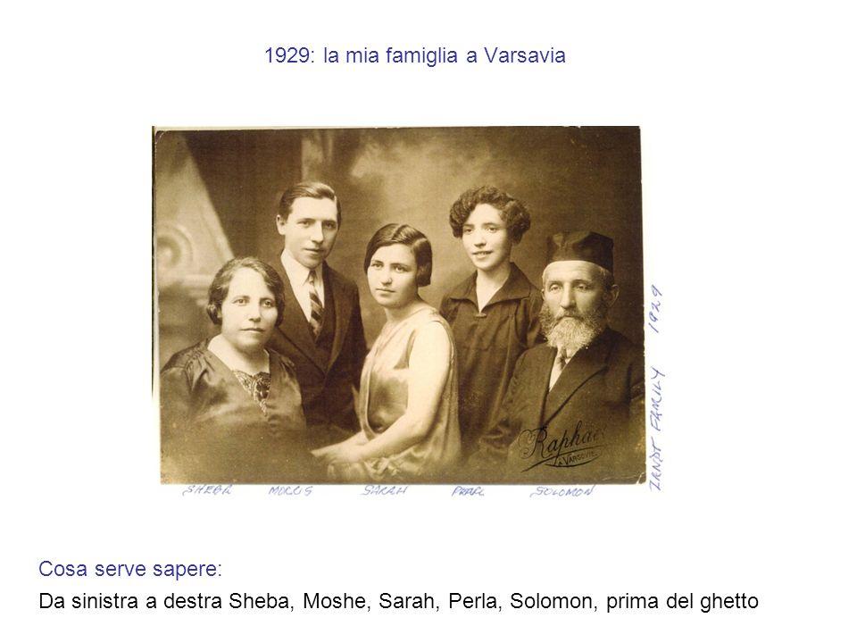 1929: la mia famiglia a Varsavia