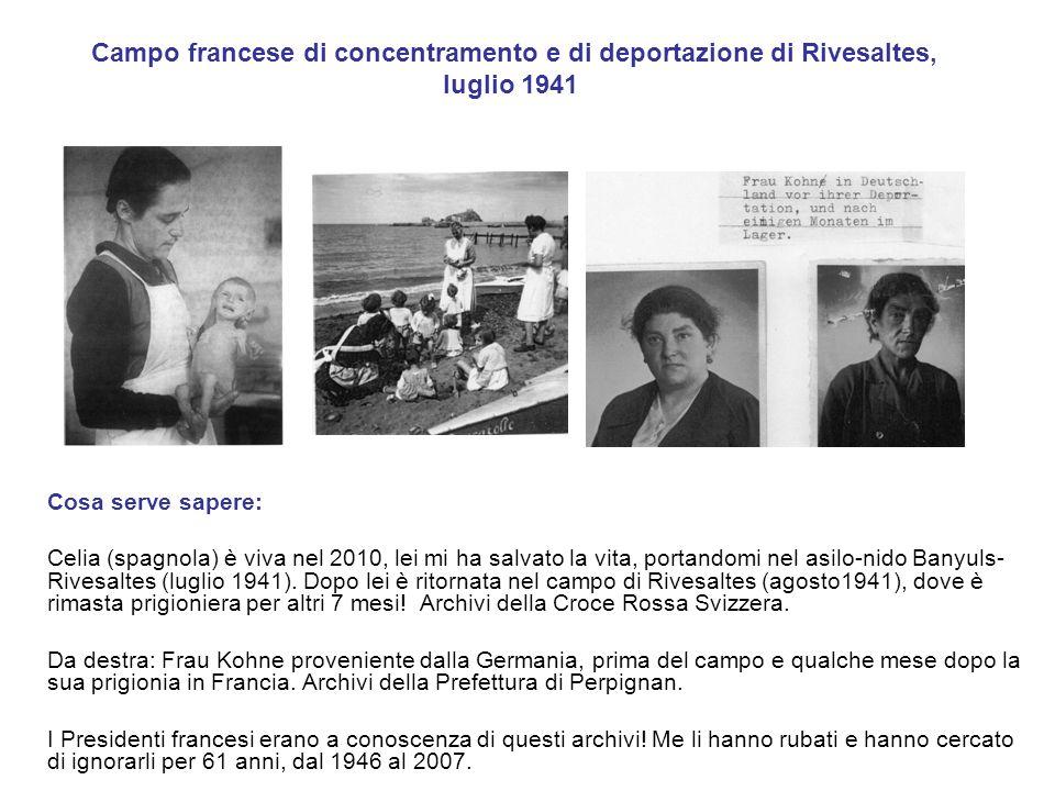 Campo francese di concentramento e di deportazione di Rivesaltes, luglio 1941