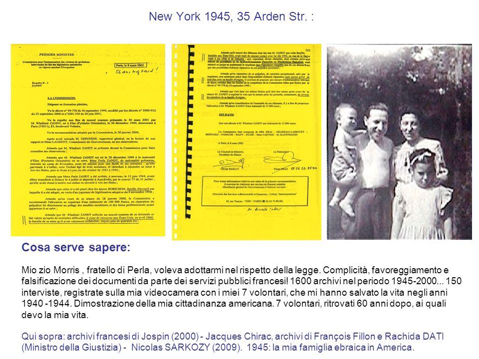 New York 1945, 35 Arden Str. : Cosa serve sapere: